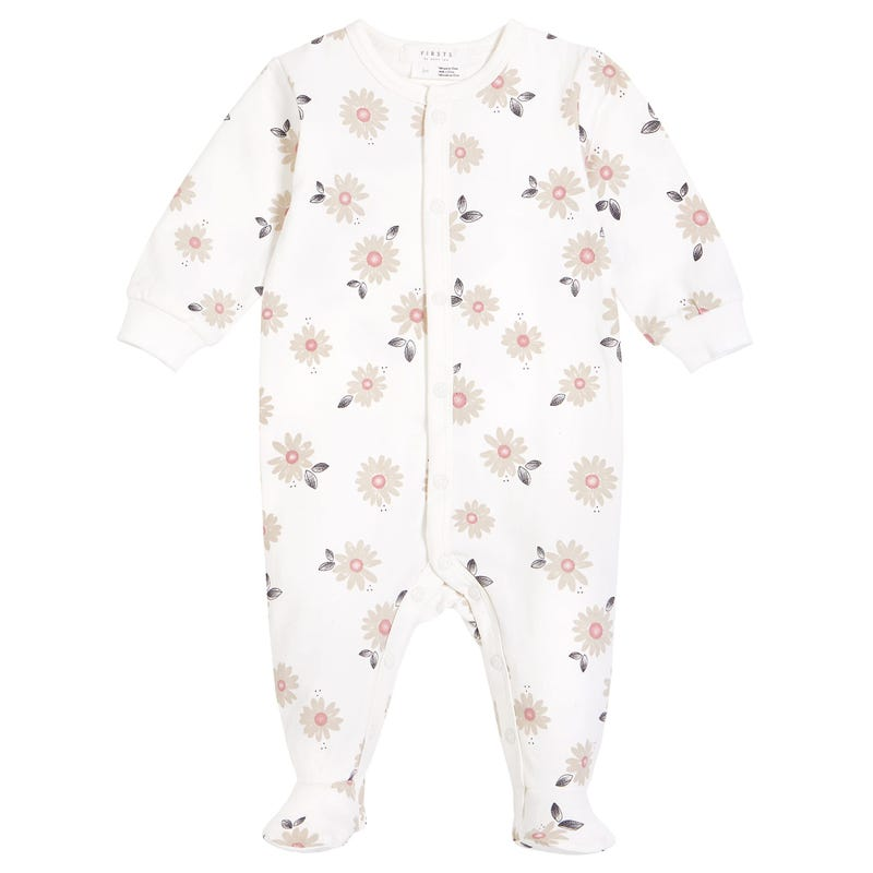 Pyjama Marguerites 0-12mois