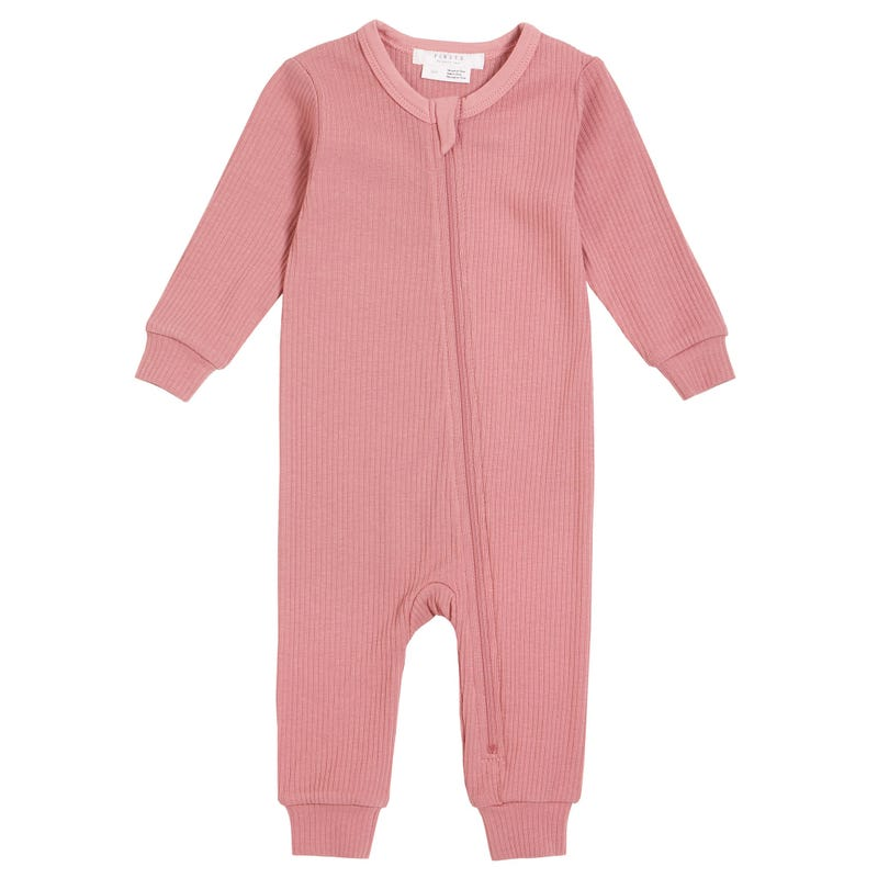 Daisies Pink Pajamas 0-12m