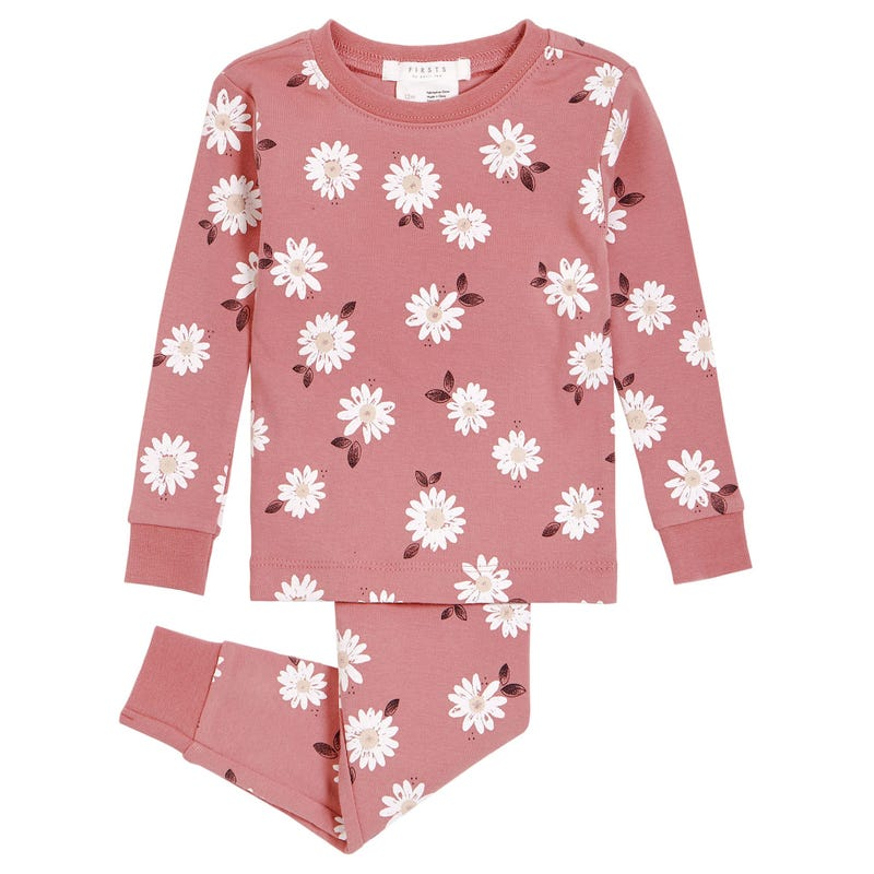 Pyjama 2 Pièces Marguerites 12-24mois
