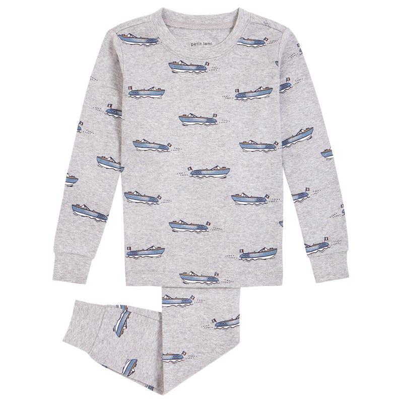 Nautical 2 Pieces Pajamas 2-8y