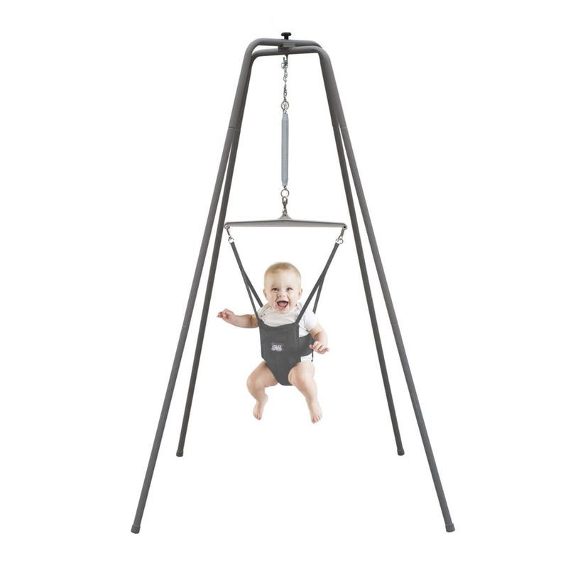 Original Jolly Jumper Exerciser With Super Stand
