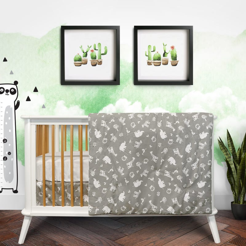 3 Pieces Bedding Set - Jungle