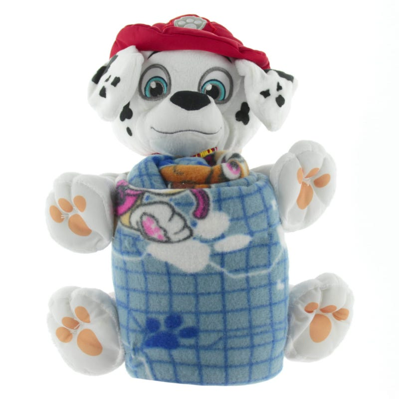 Paw Patrol Blanket And Plush - Marcus