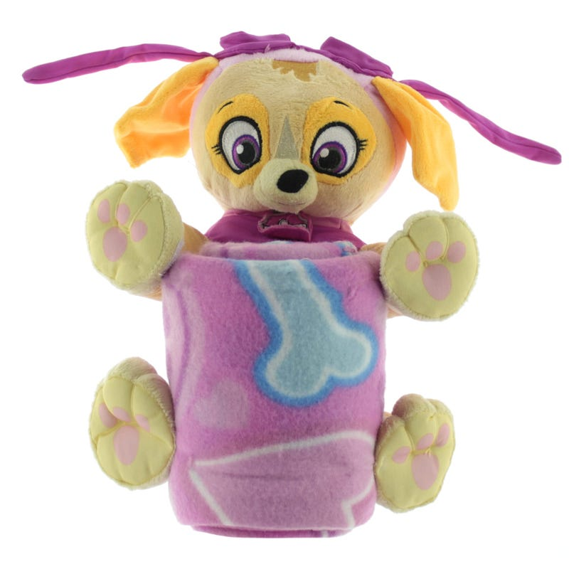 Paw Patrol Blanket And Plush - Skye