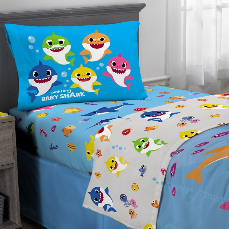 Twin Sheets Set Baby Shark