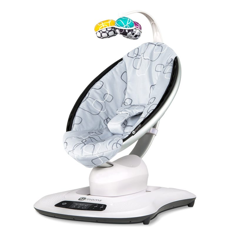 Mamaroo 4.0 Swing - Silver Plush