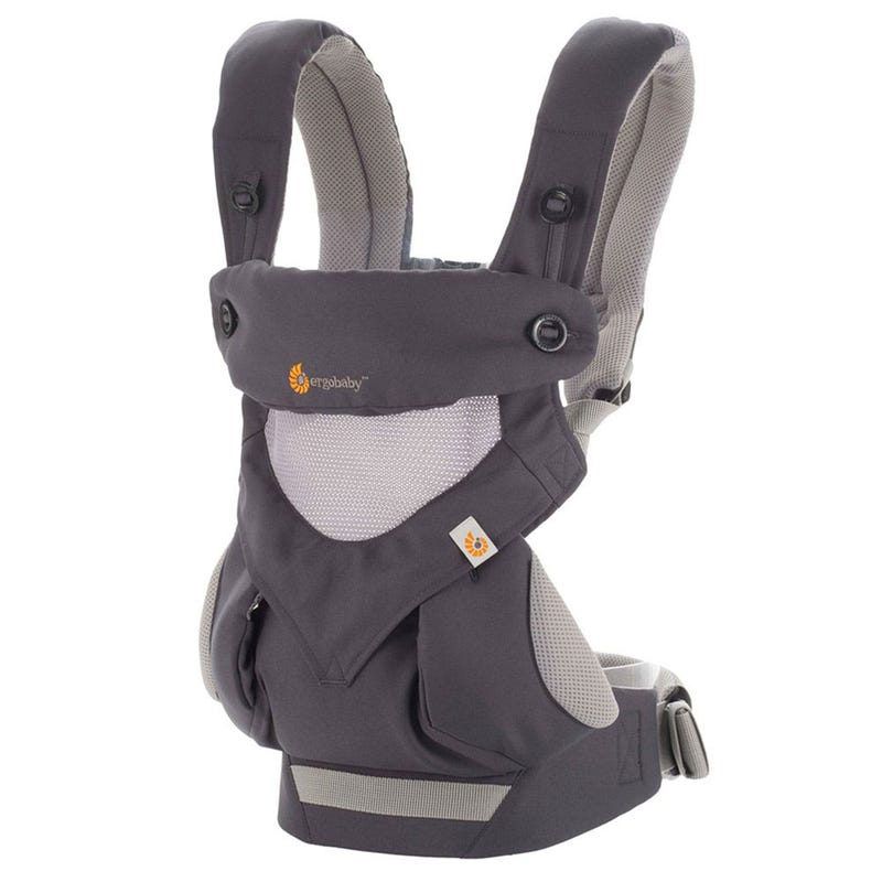 360 Cool Air Mesh Baby Carrier - Carbon Gray