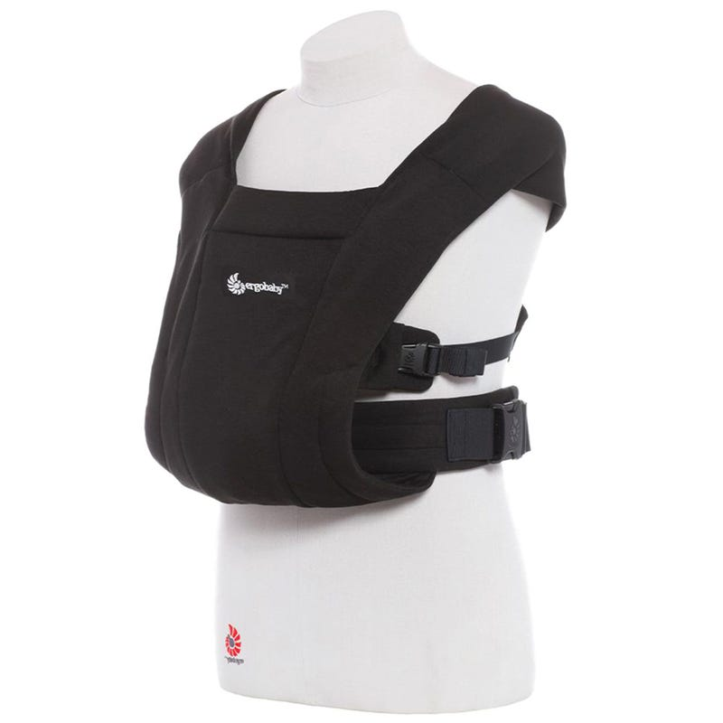Embrace Cozy Newborn Carrier - Pure Black