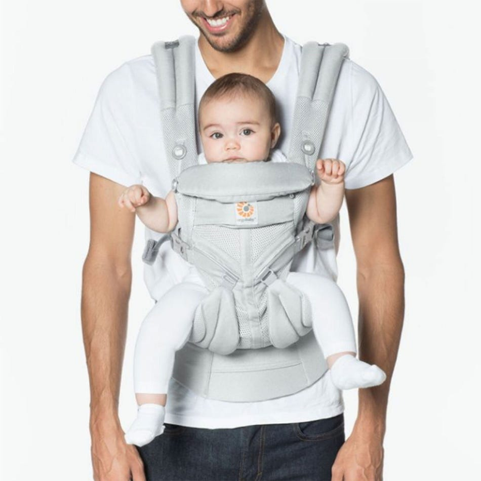 27150f706e9 Ergobaby 360 Cool Air Mesh Omni Baby Carrier - Gray - Clement