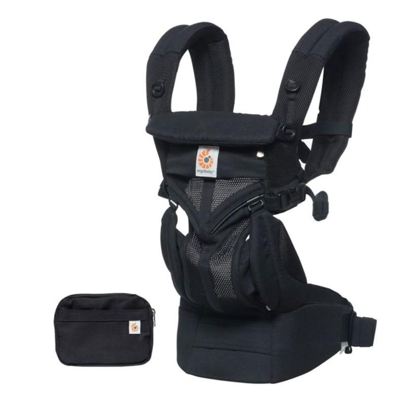 Porte-bébé Omni 360 Cool Air Mesh - Onyx Noir