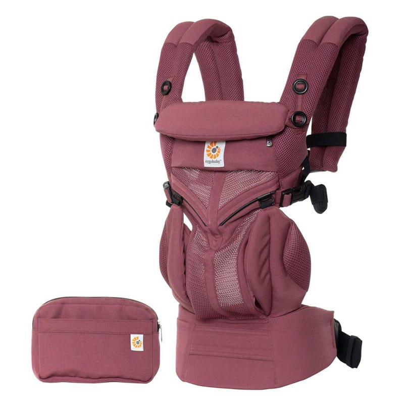 Omni 360Baby Carrier All-in-one Cool Air Mesh - Plum
