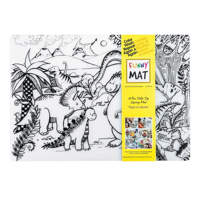 Coloring Mat - Jurassic
