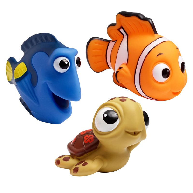 Finding Nemo Bath Squirt Toys Set of 3