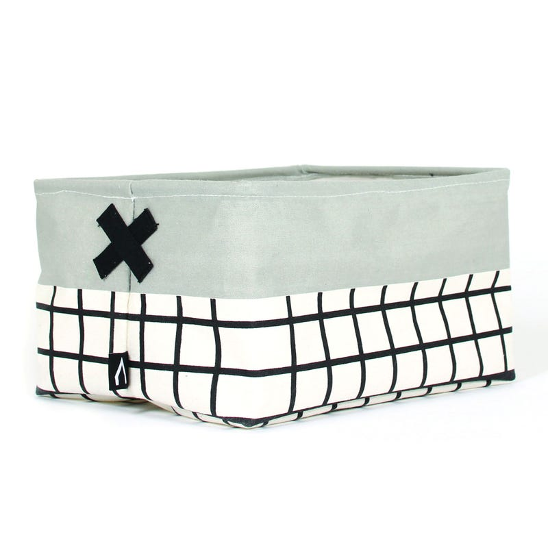 Olé Storage Basket - Gray