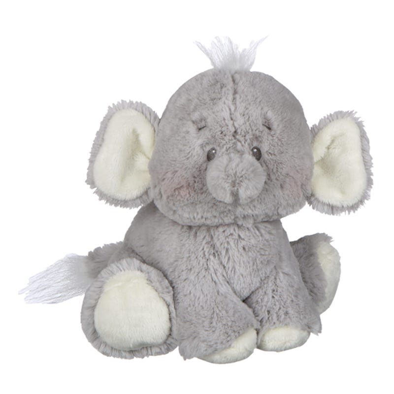 Elephant Plush - Gray