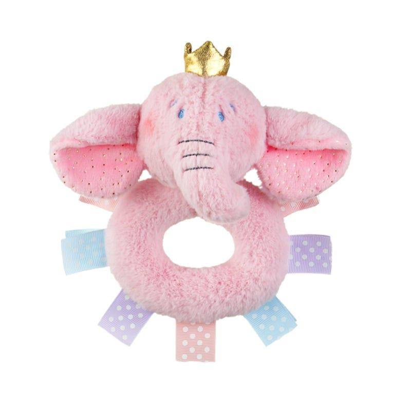 Hochet Éléphant - Rose