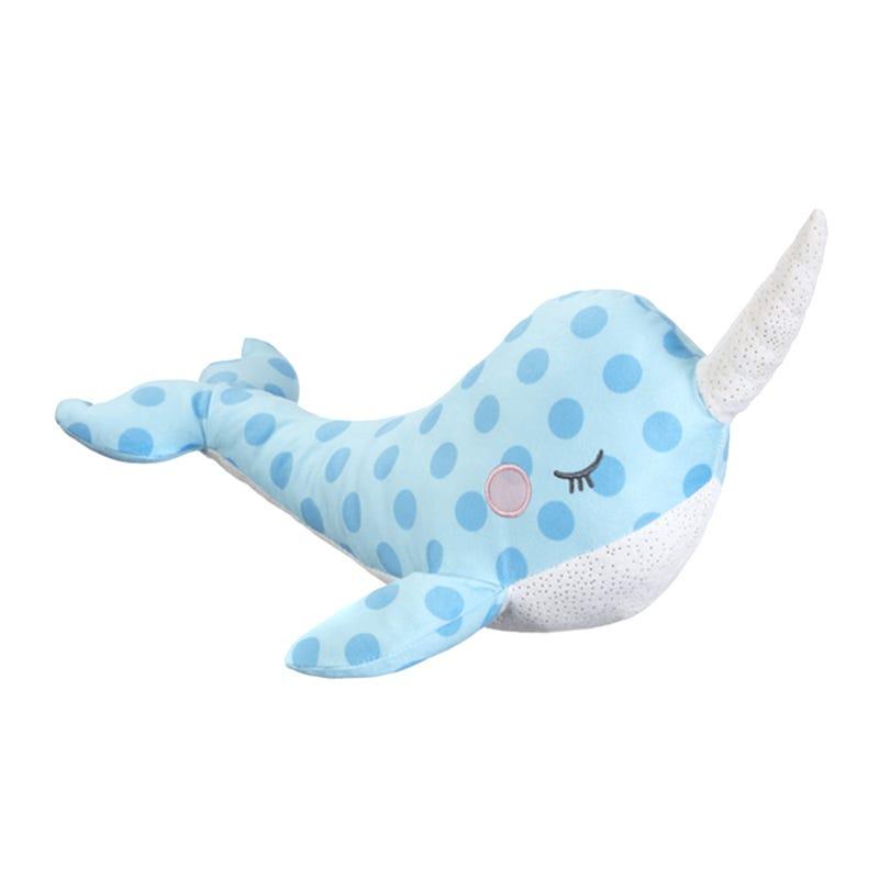 Peluche Licorne de Mer - Bleu