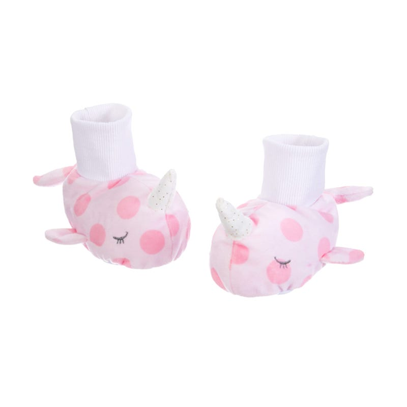 Narwhal Slippers - Pink