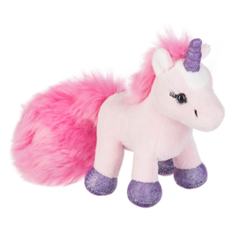 Unicorn Plush - White/Purple