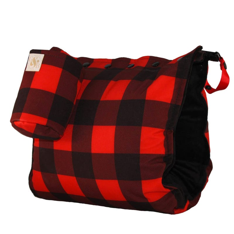 Nursing Muff Buffalo Plaid