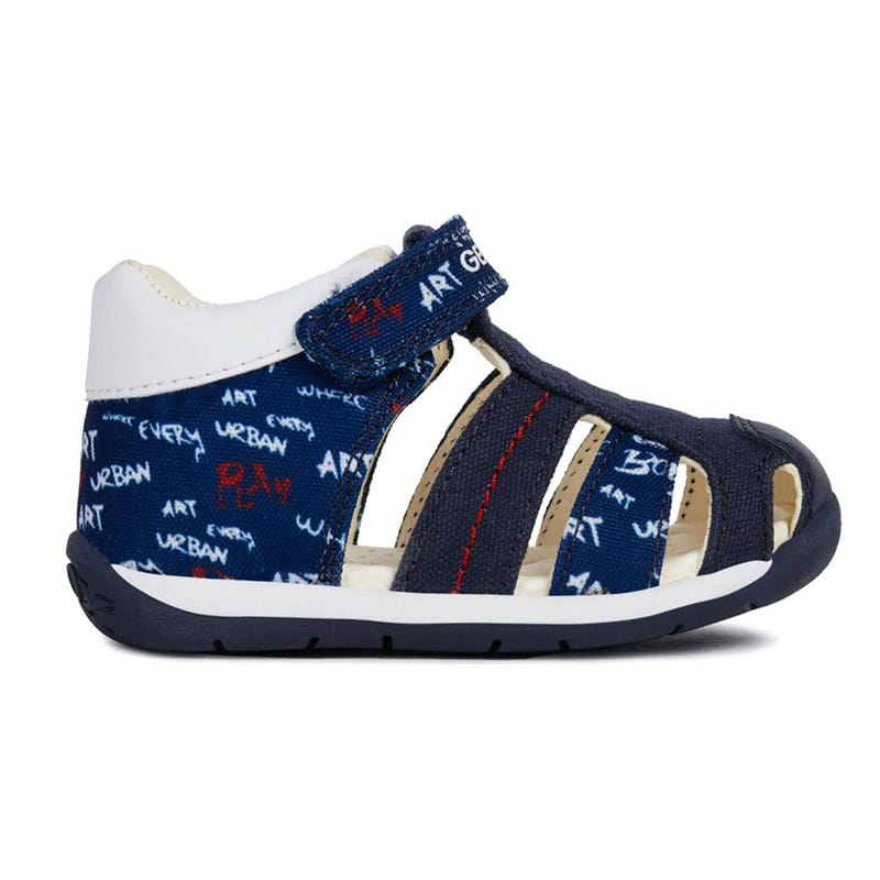 Each Sandals Sizes 18-25 - Navy