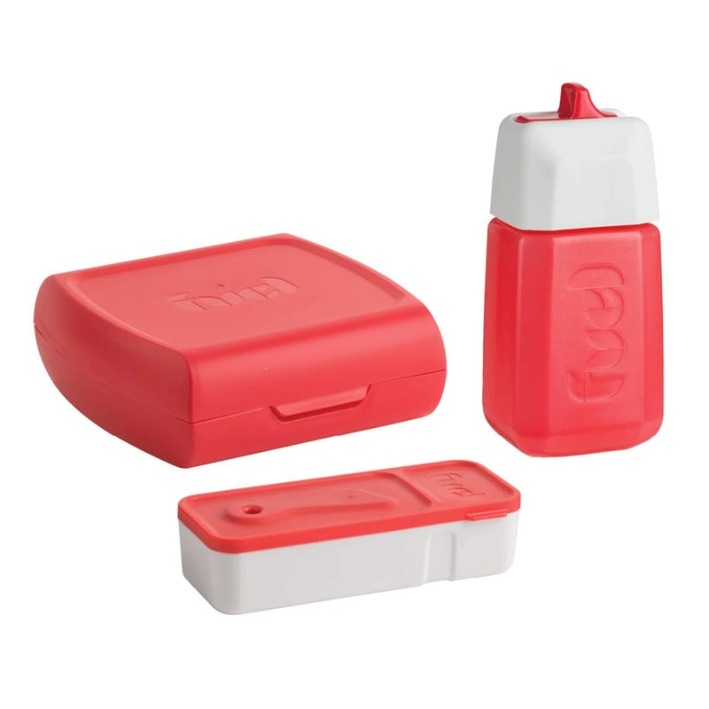 Fuel 3 Pieces Lunch Set - Red