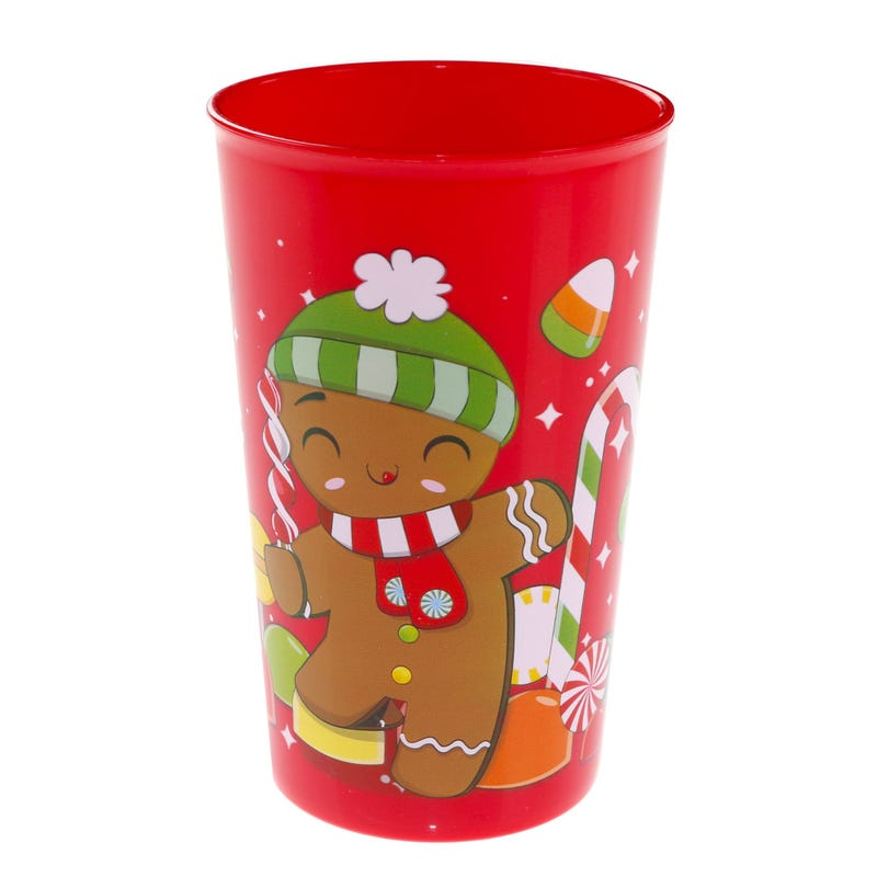 Christmas Glass - Gingerbread