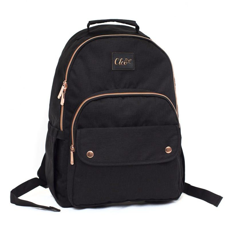 Cleo Black Backpack