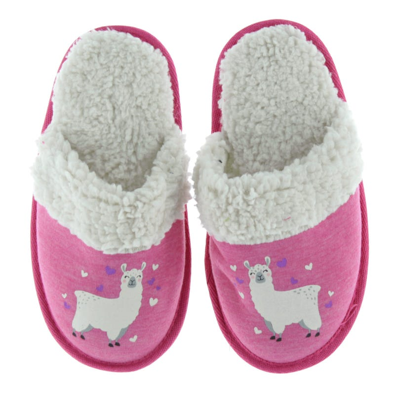 Lama Sherpa Slippers Sizes 9-5