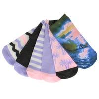 Surf Socks Size 5-7 - Set of 6