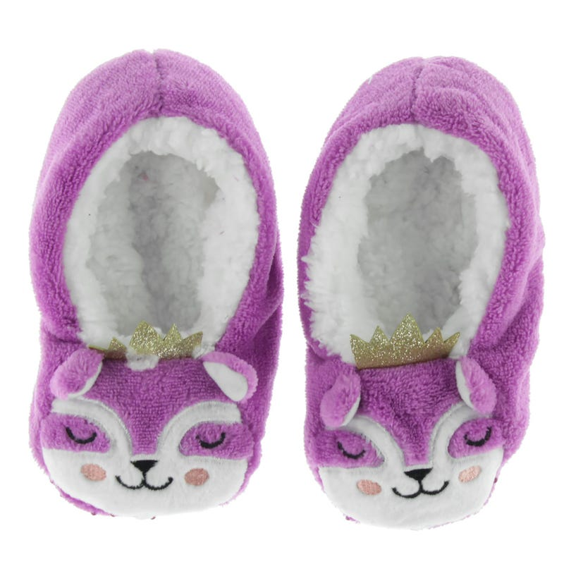 Raccon Slippers Sizes 10-6