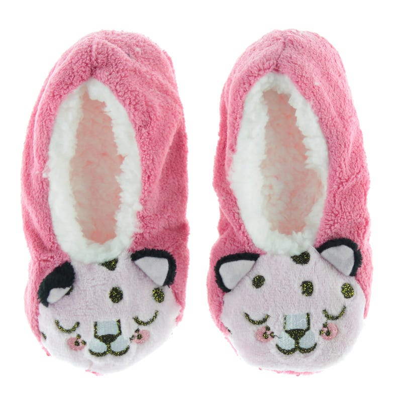 Cheetah Slippers Sizes 10-3