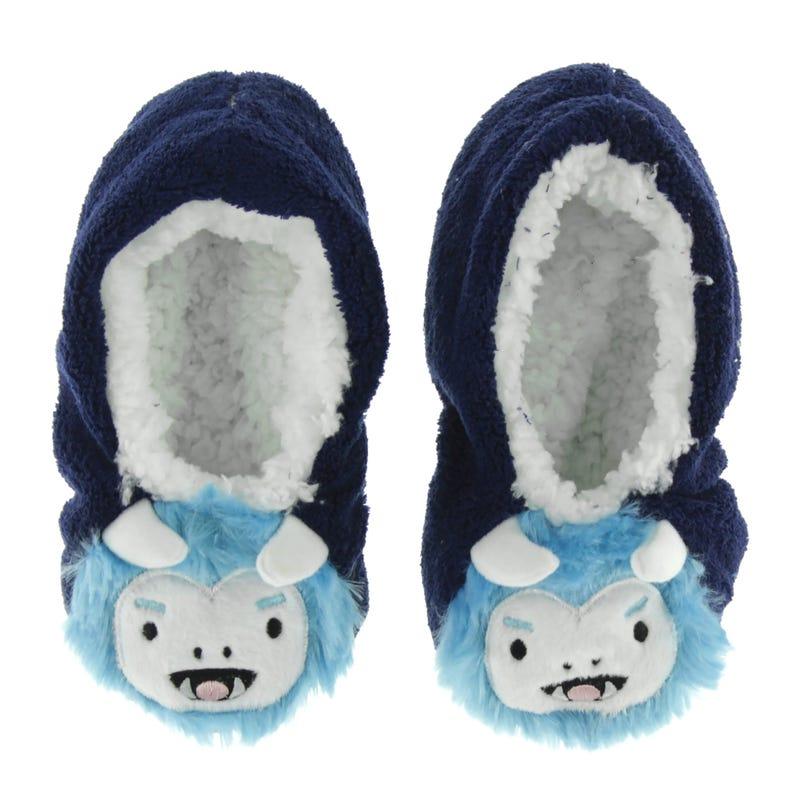 Monster Slippers Sizes 10-3