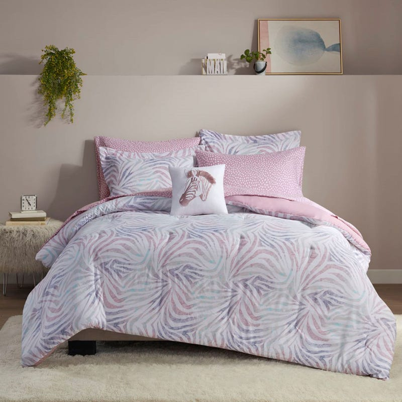 8 Pieces Full Comforter Set - Nisha