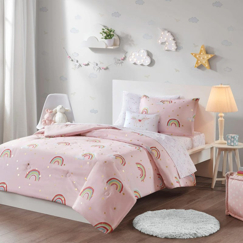 Alicia Full Bed and Sheet Set