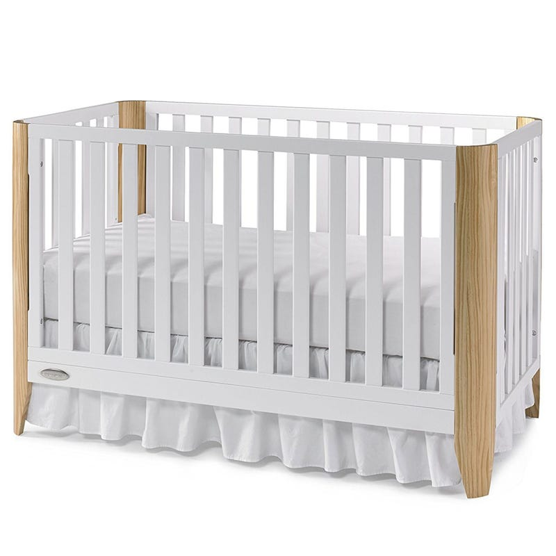 Crib - White/Natural