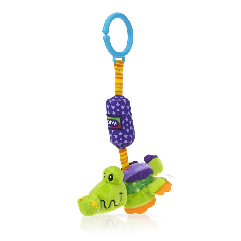 Safari Chimes Activity Toy Nuby - Alligator