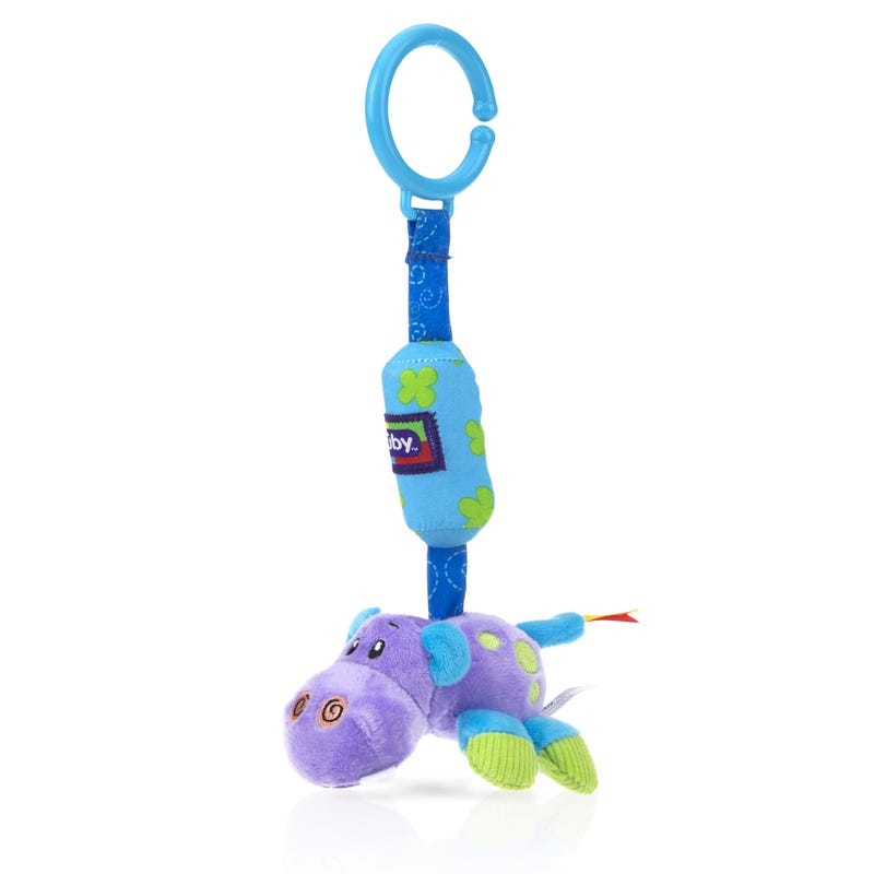 Safari Chimes Activity Toy Nuby - Hippo
