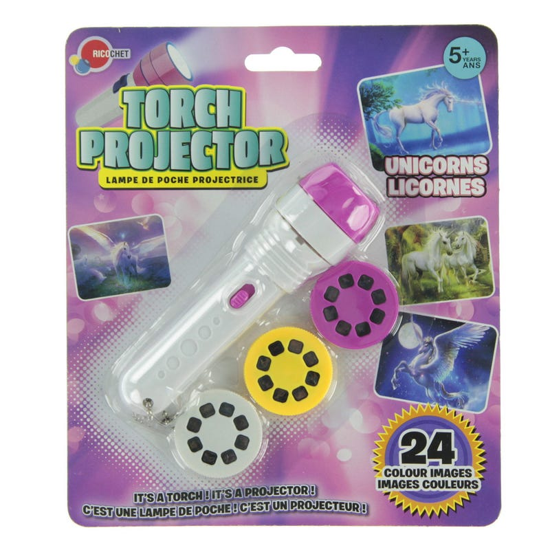 Torch Projector - Unicorns