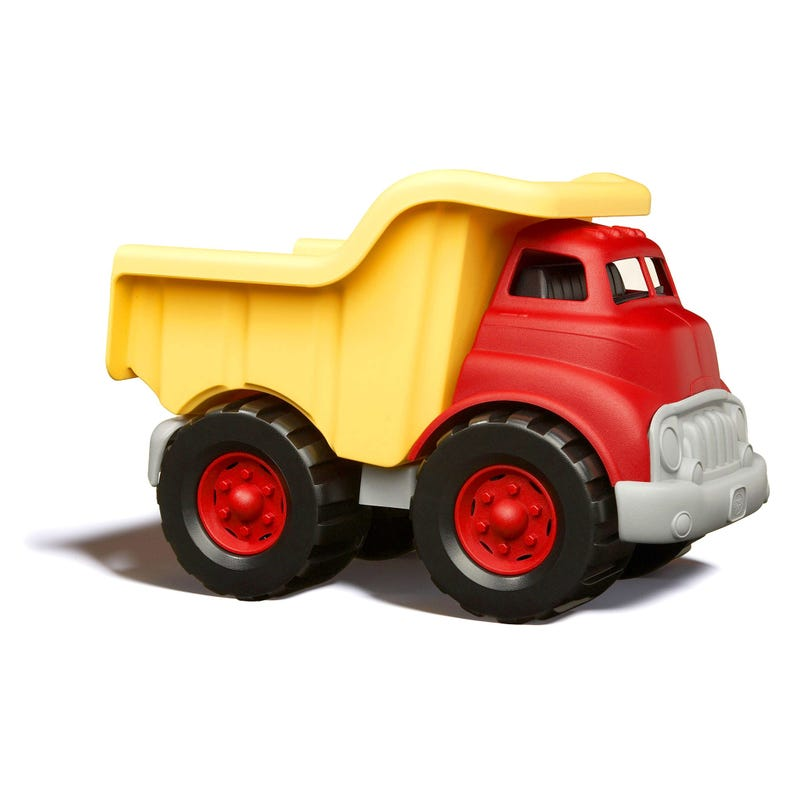 Camion Benne Rouge