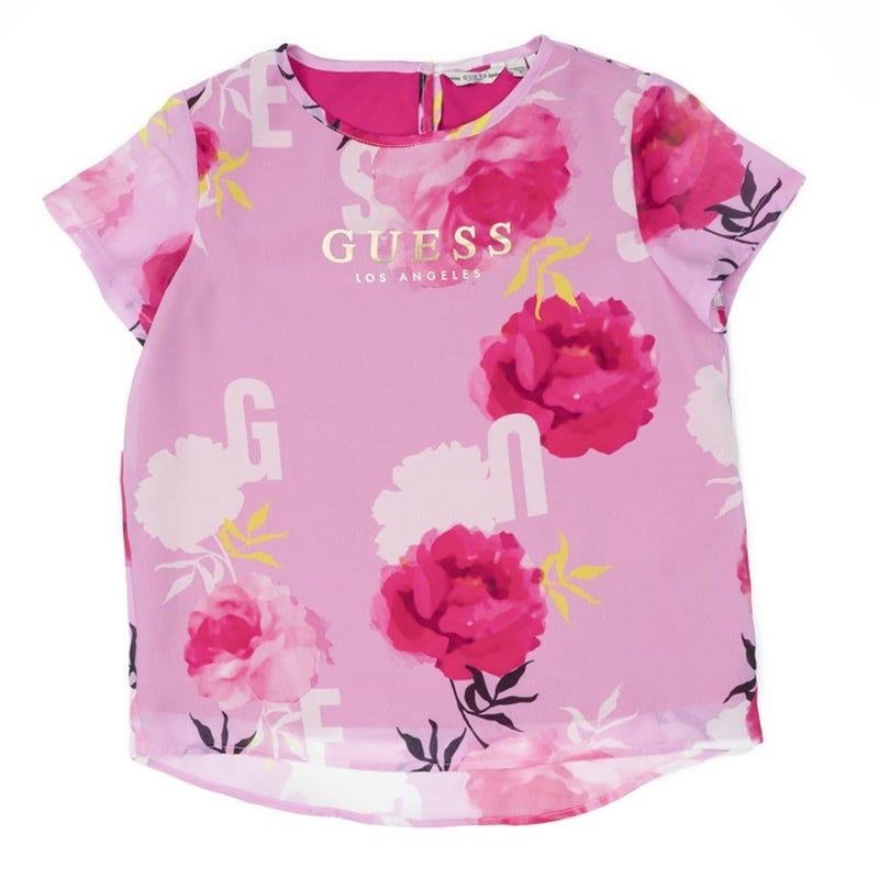 Flowers T-Shirt 7-14y