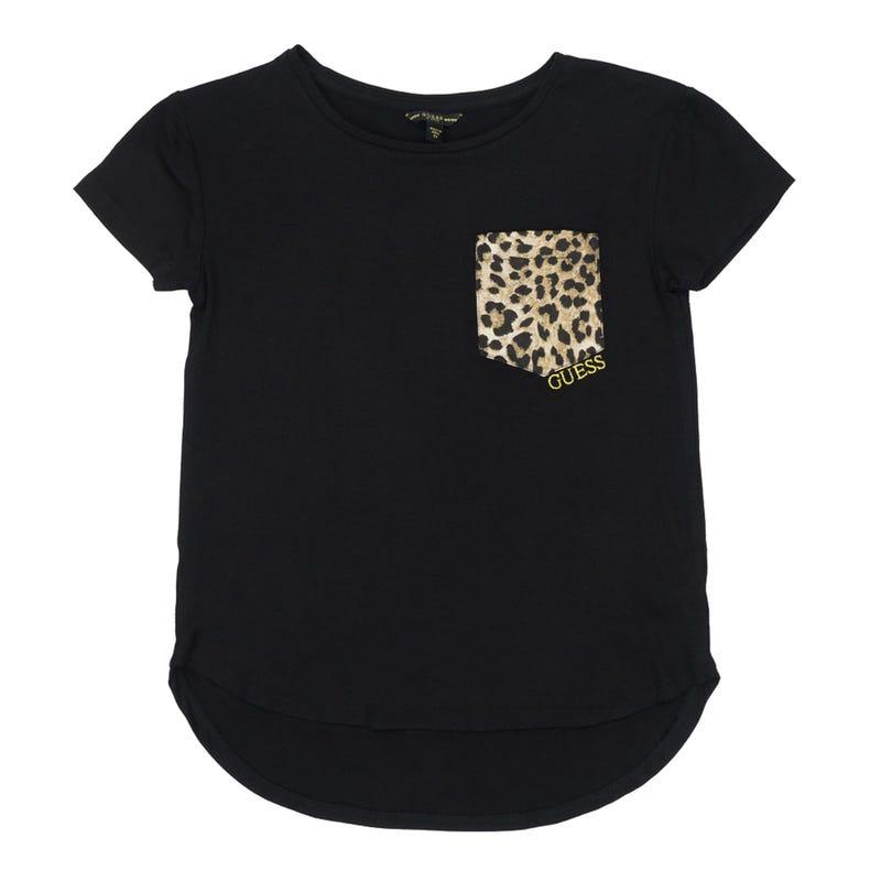 Short Sleeves Pocket T-Shirt 7-14y