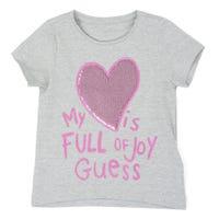 T-Shirt Coeur 2-7ans