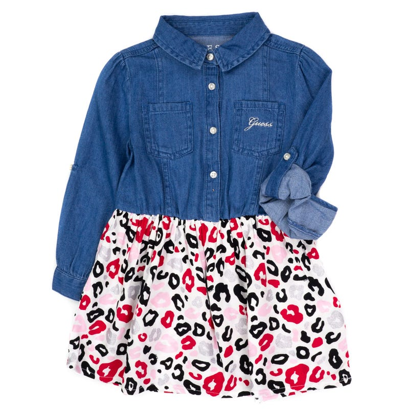 Robe Jeans Chat 2-6ans