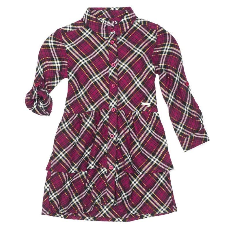 Check Plaid Dress 2-6y