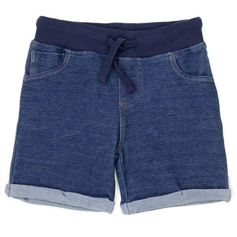 Knit Denim Shorts 2-6x