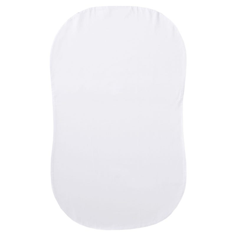 Fitted Sheet Bassinet Halo - White