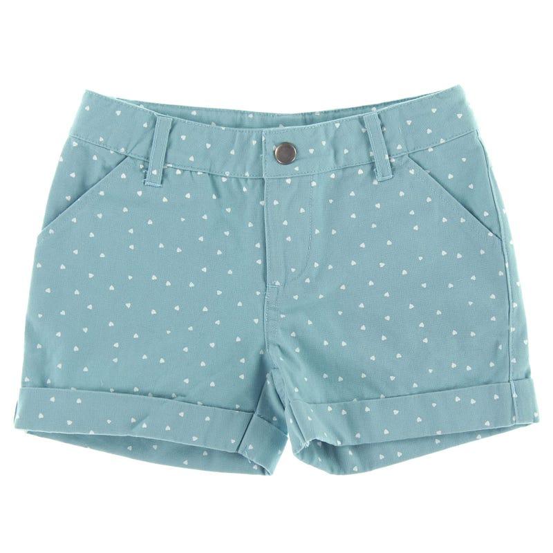 Hearts Shorts 2-8y