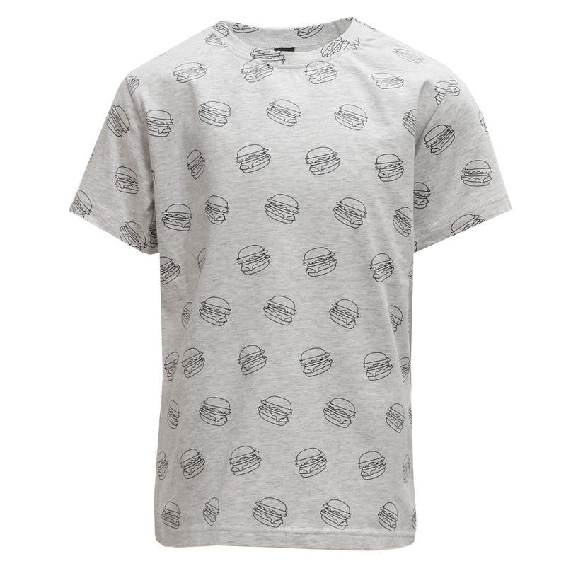 T-Shirt Hamburger 2-8ans