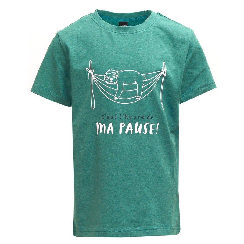 T-Shirt Paresseux 2-8ans